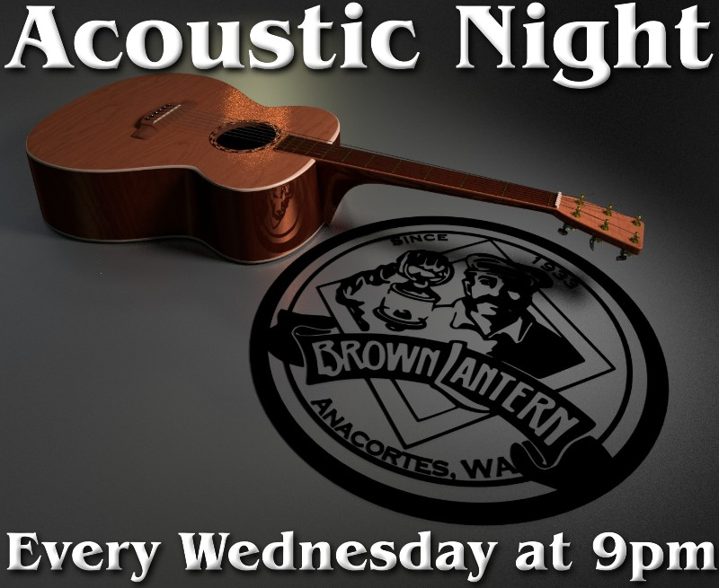 Acoustic Night every Wednesday at 9pm