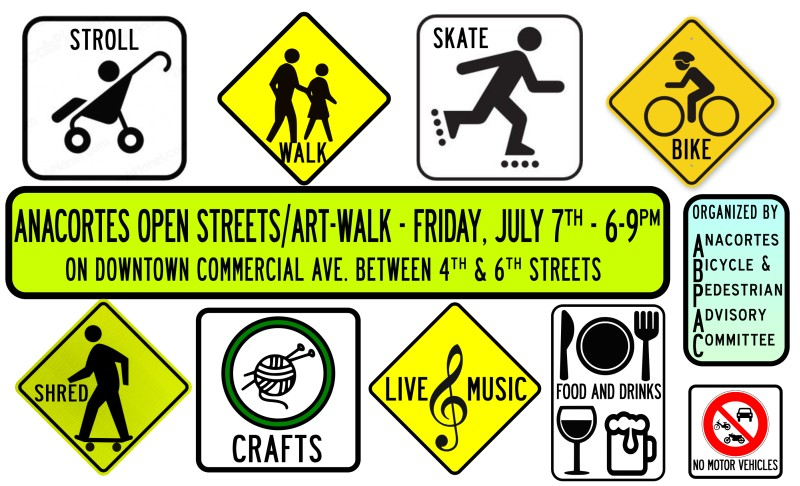 Anacortes Open Streets, Sun., Sept. 13th, 11am - 3pm