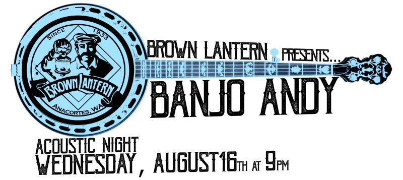 Banjo Andy, Wednesday, August 16th, 2017 9pm