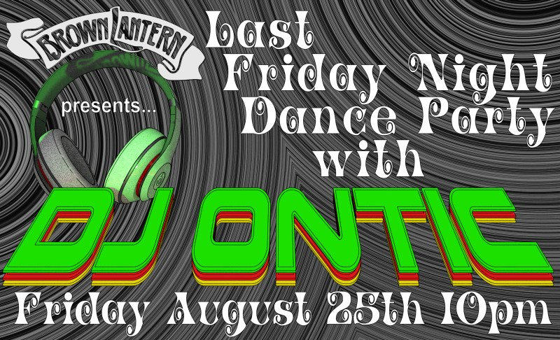 DJ Ontic, Friday, August 25th, 2017 @ 10pm