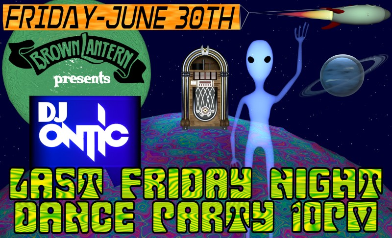 DJ Ontic, Friday, June 30th, 2017 @ 10pm