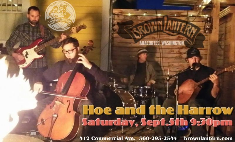 Hoe and the Harrow, Saturday, Sept. 5th, 9:30pm
